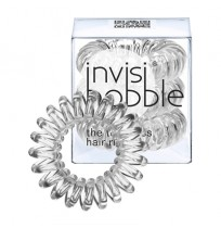 Hair Ring 3-pack Crystal Clear