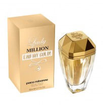 Lady million eau my gold edt