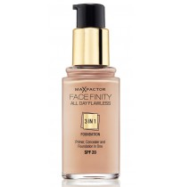 FACE FINITY ALL DAY FLAWLESS 3-IN-1 FOUNDATION Sand 60