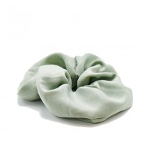 Vera Scrunchie Oversize - Light blue grey green