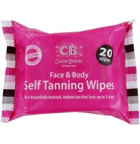 Face And Body Self Tanning Wipes