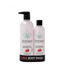 Red Superfruit Duo Bodylotion + Body Wash