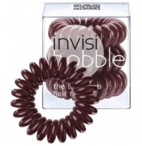 Hair Ring 3-Pack Pretzel Brown