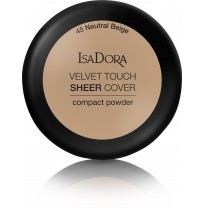 Velvet Touch Sheer Cover Compact Powder Neutral Beige 45