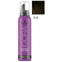 Igora Expert Mousse 3-0 - Dark Brown
