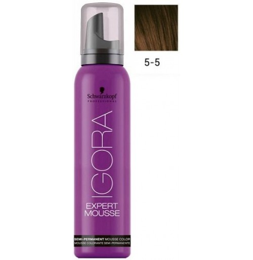 Igora Expert Mousse 5-5 - Light Brown Gold