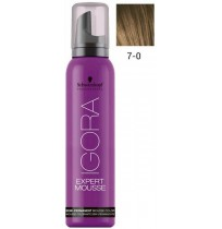 Igora Expert Mousse 7-0 - Medium Blonde