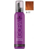 Igora Expert Mousse 8-77 - Light Blonde Copper Extra