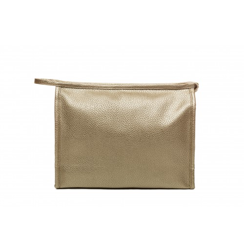 Large Toiletry Bag - Gold